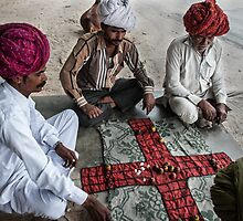 Traditional Chausher Game Of Rajasthan-1 by Mukesh Srivastava