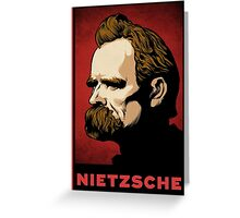 Nietzsche Print Greeting Card