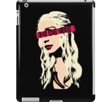 The PopMother of Dragons iPad Case/Skin