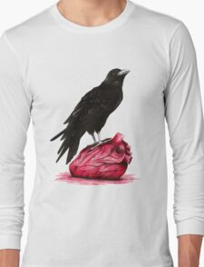 quote the raven: nevermore Long Sleeve T-Shirt