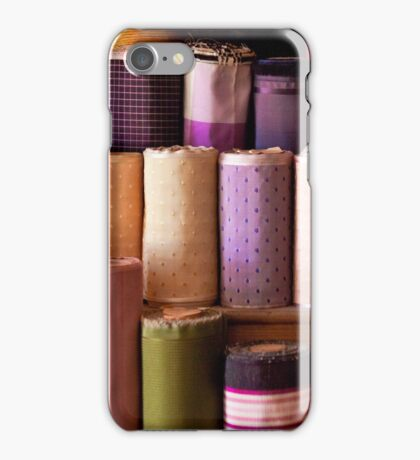 Sewing - Fabric  iPhone Case/Skin