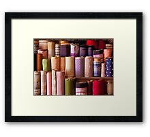 Sewing - Fabric  Framed Print