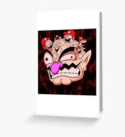 Identified by Inversion Greeting Card