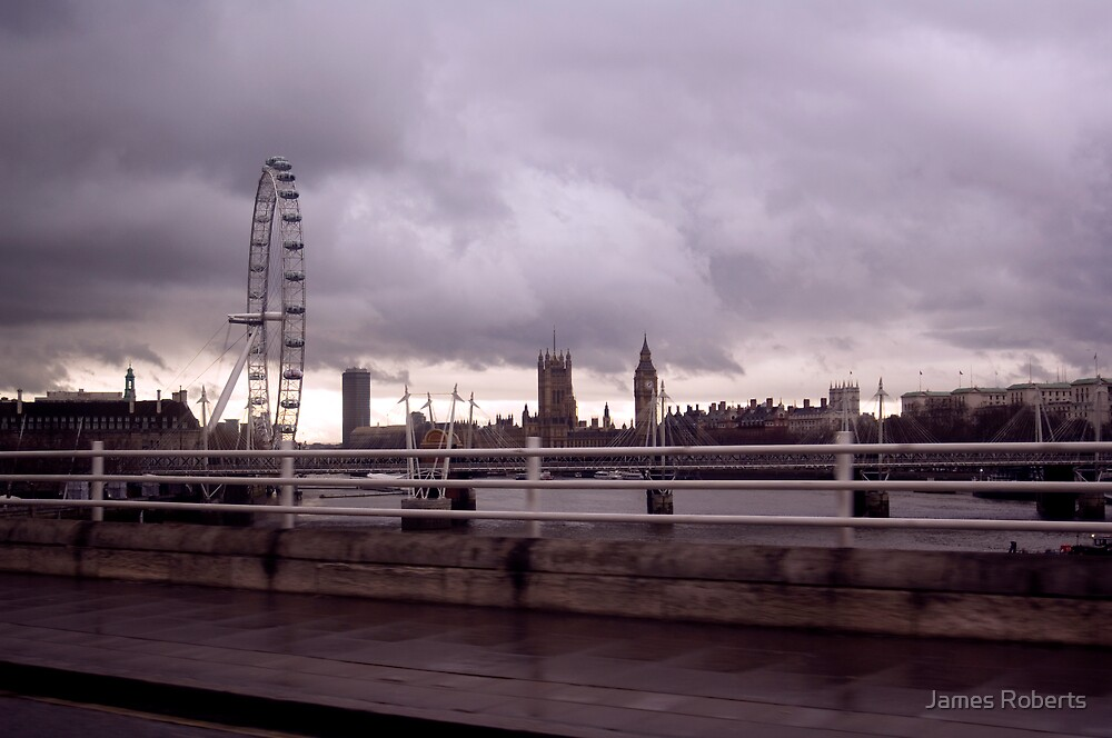 'London Cityscape' by James Roberts