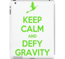 Wicked - Keep Calm and Defy Gravity iPad Case/Skin