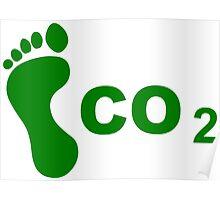 CO2 Footprint Poster