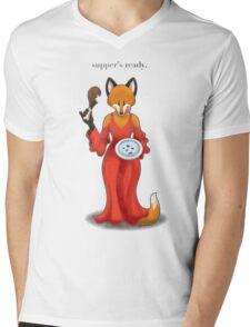 Supper's Ready Mens V-Neck T-Shirt