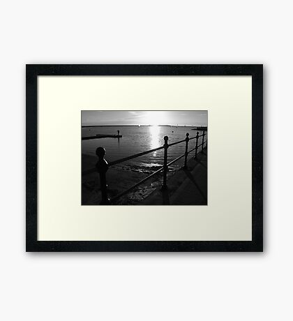West Kirby Marina Framed Print