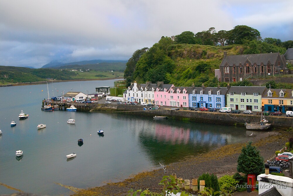 Portree by Andrew McKenna