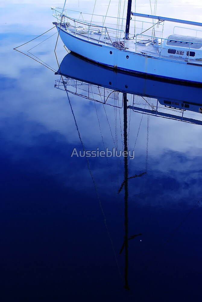 Marina Blues. by Aussiebluey