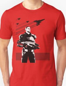 N7- Commander Shepard (Male) T-Shirt