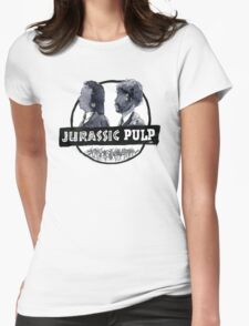 Jurassic Pulp Official T-Shirt (Jurassic Park / Pulp Fiction) Womens Fitted T-Shirt
