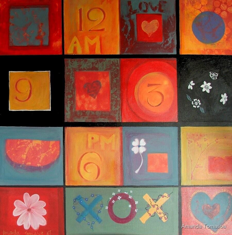 Colour Cubes by Amanda Tomasoa
