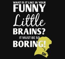 Sherlock Funny little brains by tvgeek