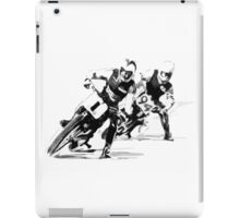 Dirt Track Racers. iPad Case/Skin