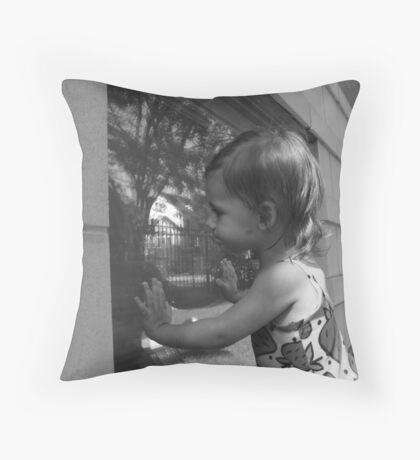 GARDEN APARTMENT Throw Pillow