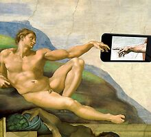The Creation Of Adam 2014 by Mythos57