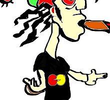 I Phone Graphic Design: The Rastafarian Stoner by xtremeherbalist