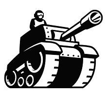 Tankman in a tank by JAC97