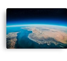 Earth view Canvas Print