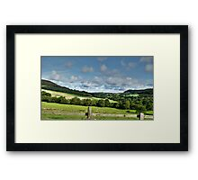 Hazel Top Framed Print