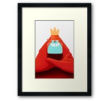 MONKEY KING Framed Print