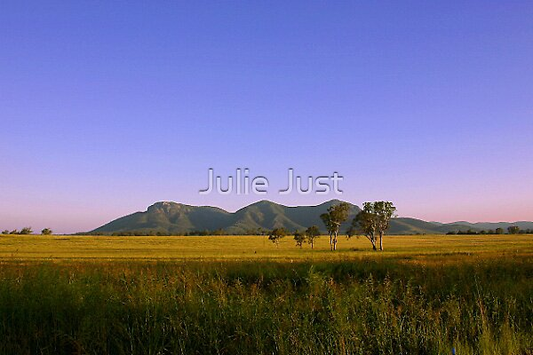 Clear skies by Julie Just