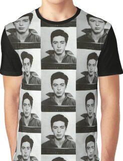 Al Pacino Mugshot Graphic T-Shirt