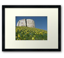 Cliffords Tower York Framed Print