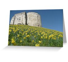 Clifford's Tower York Greeting Card
