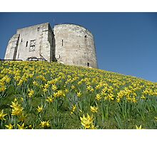 Cliffords Tower York Photographic Print