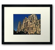 The Minster in York Framed Print