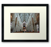 The Nave Framed Print