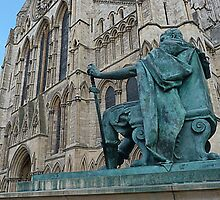 King Constantine and the Minster by Robert Gipson