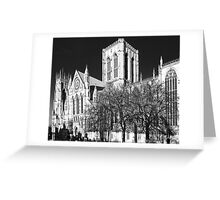 York MInster in the I.R Greeting Card