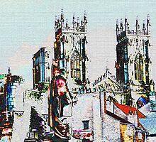 York cityscape by Robert Gipson