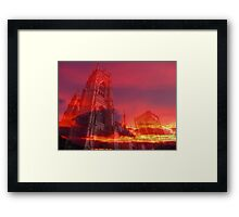 Fire from the Pulpit Framed Print