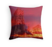 Fire from the Pulpit Throw Pillow