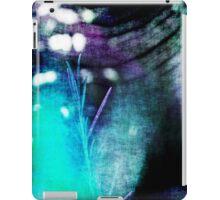 Beauty Fades // An Abstract Between Purple & Aqua iPad Case/Skin