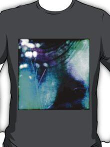 Beauty Fades // An Abstract Between Purple & Aqua T-Shirt