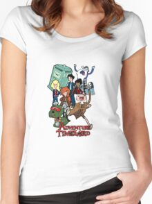 Adventure Time-Lord Number Ten Women's Fitted Scoop T-Shirt