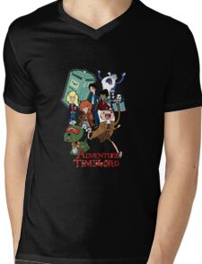 Adventure Time-Lord Number Ten Mens V-Neck T-Shirt