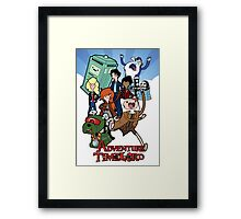 Adventure Time-Lord Number Ten Framed Print