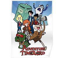 Adventure Time-Lord Number Ten Poster