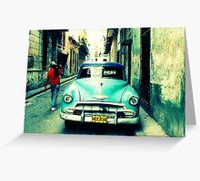 Havana Streetscape Greeting Card
