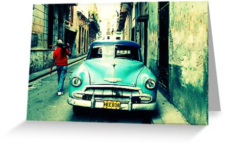 Havana Streetscape by betelnut
