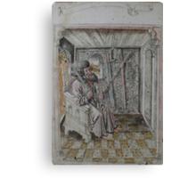 Portrait of Johannes Liechtenauer Canvas Print