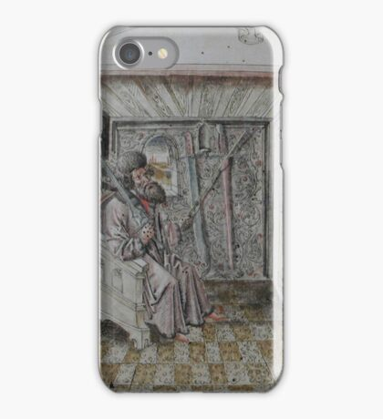 Portrait of Johannes Liechtenauer iPhone Case/Skin