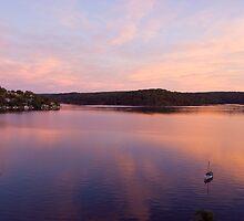 Sunset Bay by MagnusAgren