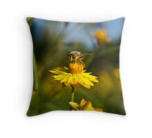 Paper Daisy Throw Pillow